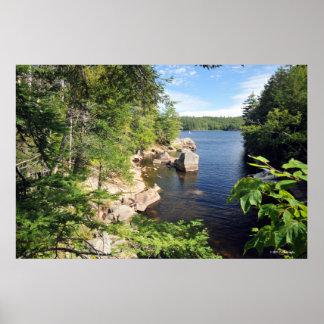 Indian Lake in the Adirondacks. print  08 103