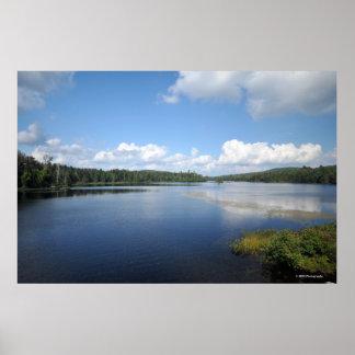 Indian Lake in the Adirondacks. print 08 132