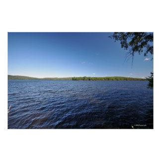 Indian lake in the Adirondacks. print 08 220