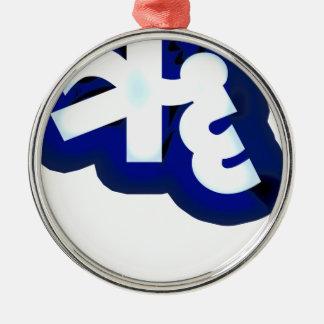 Indian lang word hindi metal ornament