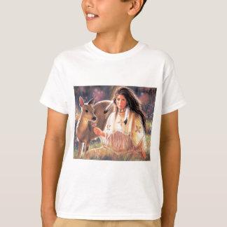 Indian Maiden & Doe T-Shirt