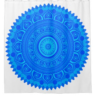 Indian mandala Blue