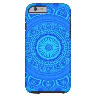 Indian mandala Blue