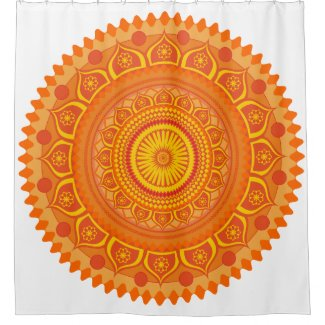 Indian mandala Orange
