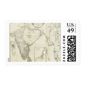 Indian Map Stamps