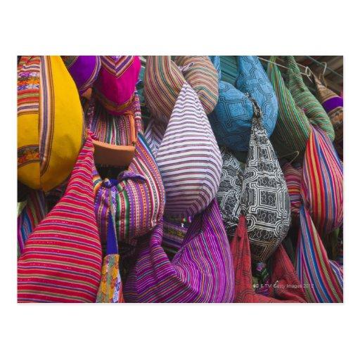Indian Market, Miraflores, Lima, Peru Post Cards