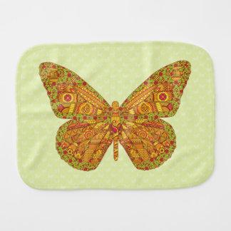 Indian Monarch Burp Cloth