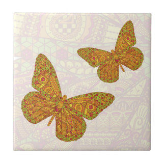 Indian Monarch Tile