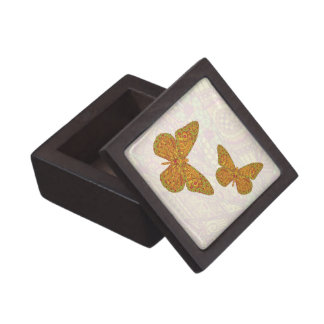 Indian Monarch Trinket Box