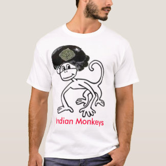 Indian Monkeys T-shirt 2, Indian Monkeys