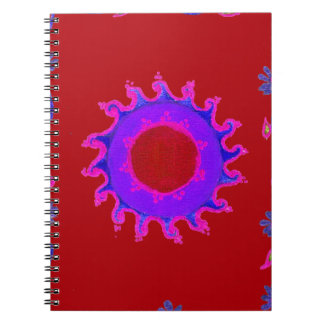 Indian Motif Mendi Art Notebook