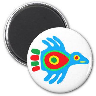 Indian native american bird bird fridge magnets