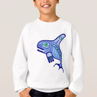 Indian native American killer whale orca Sweatshirt