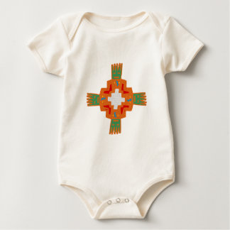 Indian native american ornament Deco ration Baby Bodysuit
