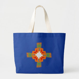 Indian native american ornament Deco ration Jumbo Tote Bag