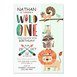 Indian Native American Pow Wow Birthday Card