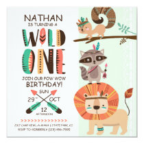 Indian Native American Pow Wow Birthday Card