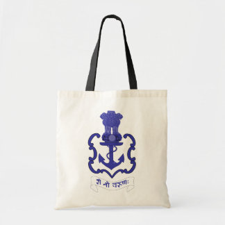 Indian Navy crest, India Tote Bag
