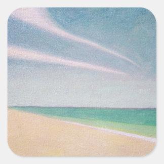 Indian Ocean 1996 Square Sticker