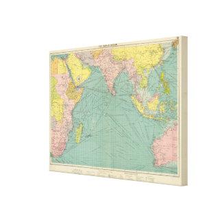 Indian Ocean 2 Canvas Print