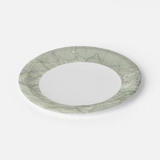 Indian Ocean 2 Paper Plate