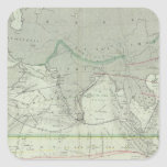 Indian Ocean 2 Square Sticker
