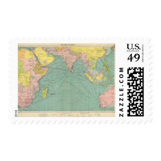 Indian Ocean 3 Stamp