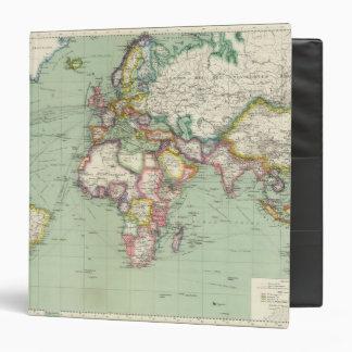 Indian Ocean, Atlantic Ocean Vinyl Binder