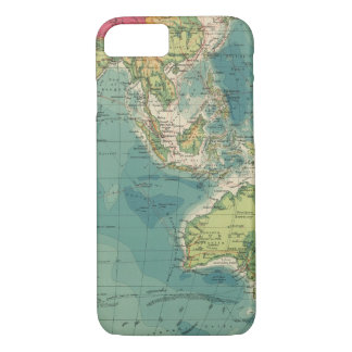 Indian Ocean cables, wireless stations iPhone 7 Case