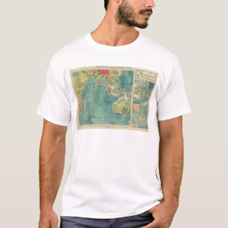 Indian Ocean cables, wireless stations T-Shirt