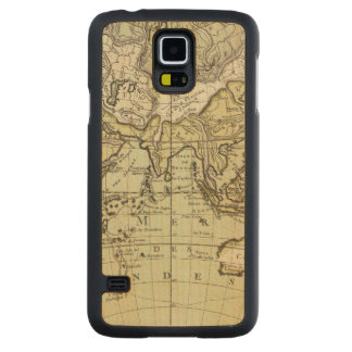 Indian Ocean Carved® Maple Galaxy S5 Slim Case