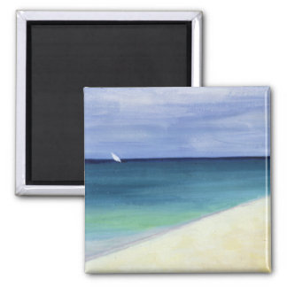 Indian Ocean II 1995 2 Inch Square Magnet