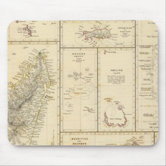 Indian Ocean Islands Mouse Pad