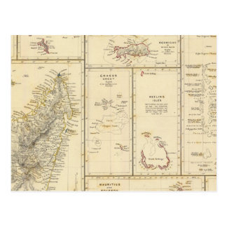 Indian Ocean Islands Postcard