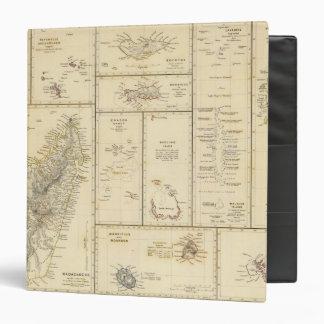 Indian Ocean Islands Vinyl Binders