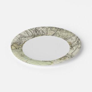Indian Ocean Paper Plate