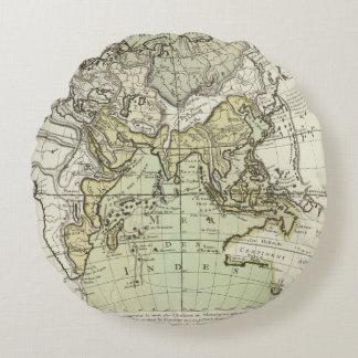 Indian Ocean Round Pillow