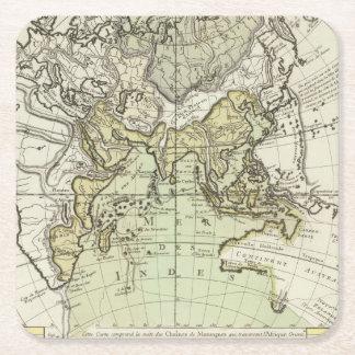 Indian Ocean Square Paper Coaster