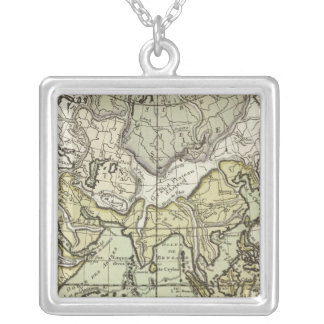 Indian Ocean Square Pendant Necklace