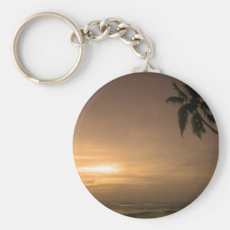Indian Ocean Sunset Keychain