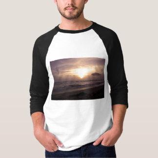 Indian Ocean Sunset Men's Raglan T-Shirt