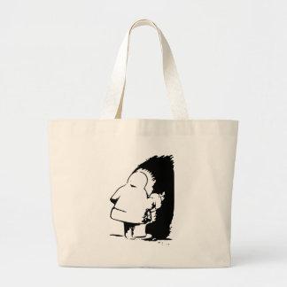 Indian or Eskimo Optical Illusion Canvas Bag