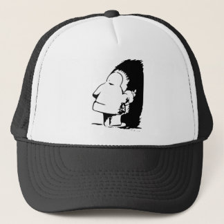 Indian or Eskimo Optical Illusion Trucker Hat