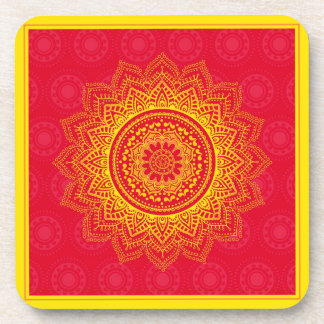 Indian ornament coasters