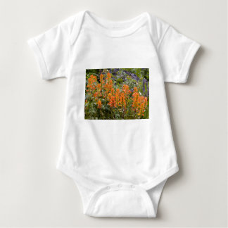 Indian Paintbrush Patch Baby Bodysuit