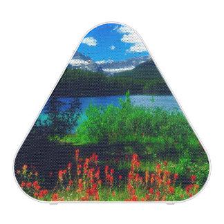 Indian Paintbrush Wildflowers Bluetooth Speaker