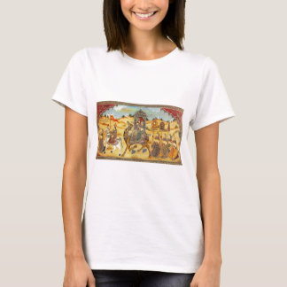 INDIAN PAINTING MARRIAGE PROCESSION T-Shirt
