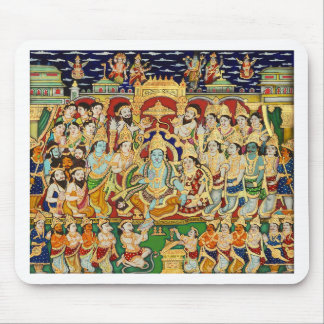 INDIAN PAINTING SRI RAMA DURBAR MOUSE PAD