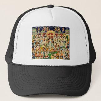 INDIAN PAINTING SRI RAMA DURBAR TRUCKER HAT