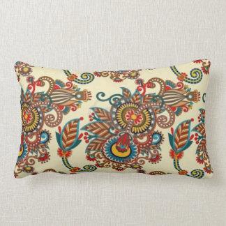 Indian Paisley Pattern Pillow